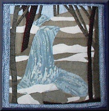 Maltby Hollow Falls - Winter Scene
