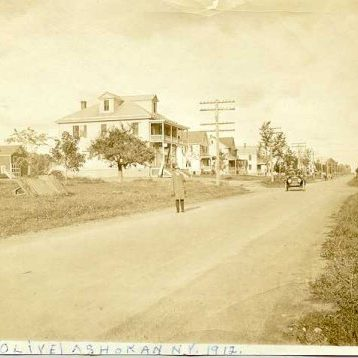 Town of Olive in 1912